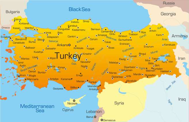 vector_map_of_turkey_country